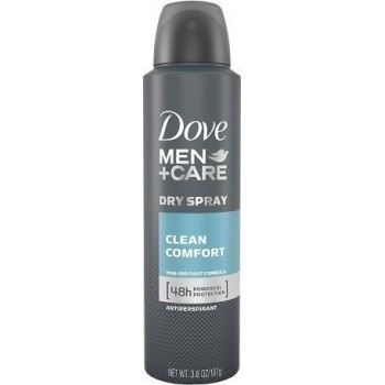 DOVE DEO SPRAY MEN CLEAN COMFORT 150 ML