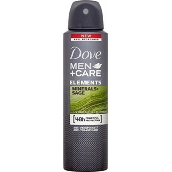DOVE DEO SPRAY COTTON MEN MINERAL&SAGE 150 ML