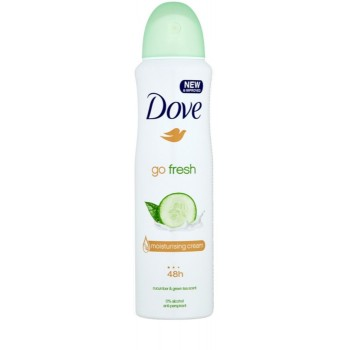 DOVE DEO SPRAY GO FRESH CUCUMBER 150 ML