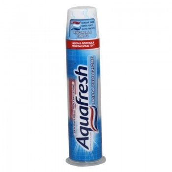 AQUAFRESH ΟΔΟΝΤΟΚΡΕΜΑ TRIPLE PROTECTION DISPENSER 100 ML