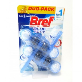 BREF ΑΠΟΛΥΜΑΝΤΙΚΟ WC ACTIVE BLUE HYGIENE 2X50 ML