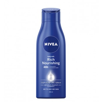 NIVEA BODY MILK RICH NOURISHING 250 ML