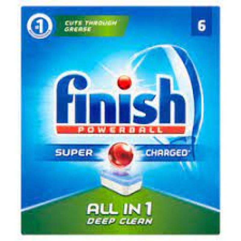 FINISH ALL IN ONE  CLASSIC  6 TABS