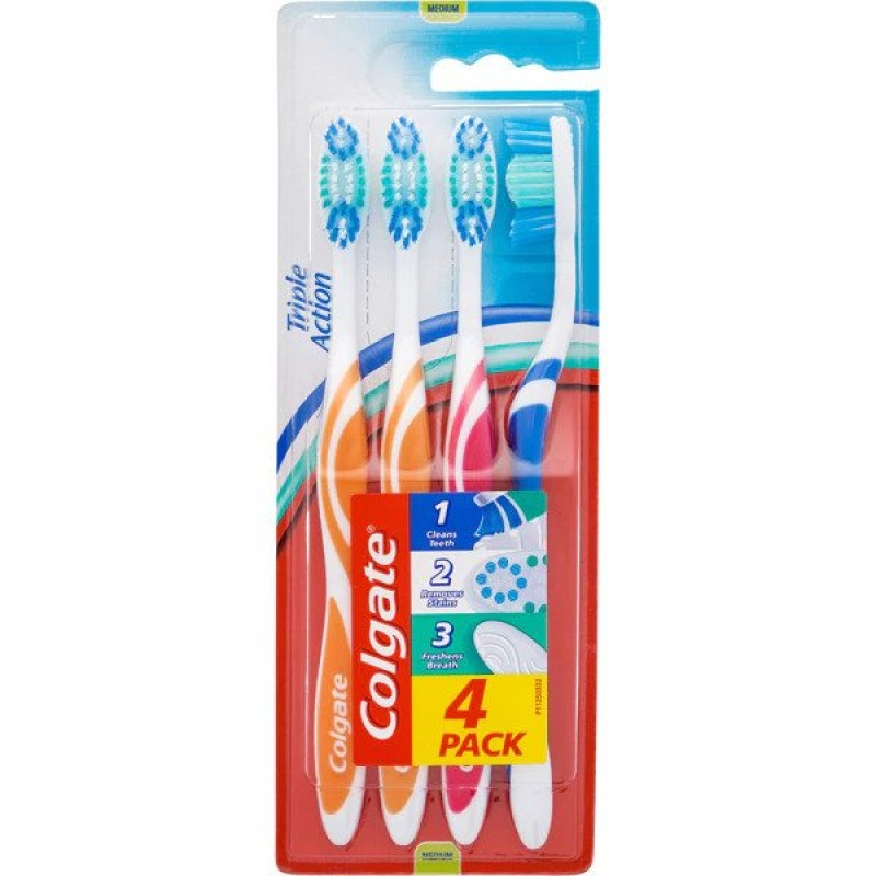 COLGATE ΟΔΟΝΤΟΒΟΥΡΤΣΑ EXTRA CLEAN 4PACK
