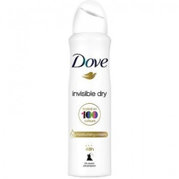 DOVE DEO SPRAY INVISIBLE DRY 150 ML