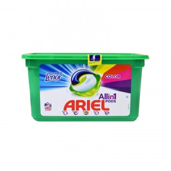 ARIEL ΚΑΨΟΥΛΕΣ All in1 TOUCH OF LENOR 40 ΤΕΜAΧΙΩΝ
