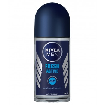 NIVEA DEO ROLL-ON MEN FRESH ACTIVE 50 ML