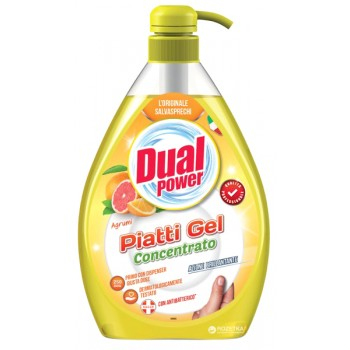 DUAL POWER PIATTI GEL CONCENTRATO AGRUMI 1L