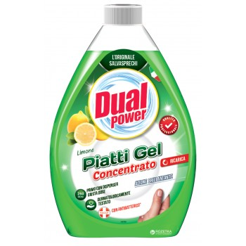 DUAL POWER PIATTI GEL CONCENTRATO VERDE 1L