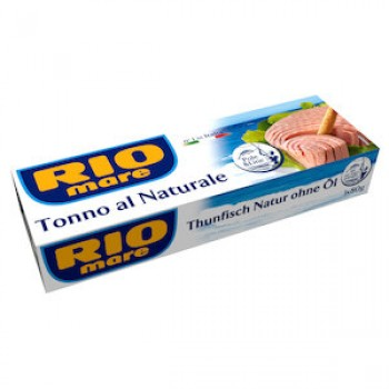 RIO MARE ΤΟΝΟΣ NATURALLE 4x80gr
