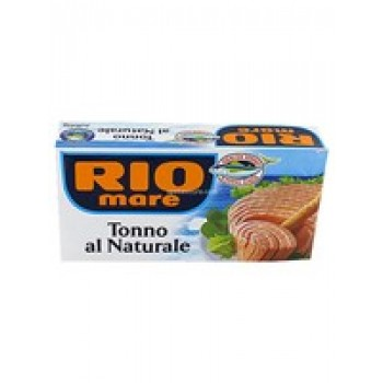 RIO MARE ΤΟΝΟΣ NATURALLE 2x160gr