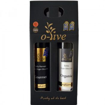 AMPHOREUS Bio-Gourmet Extra Virgin Olive Oil 2x250ml