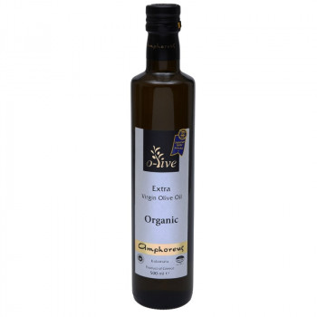 AMPHOREUS Drop of Excellence Organic Extra Virgin Olive Oil 500ml