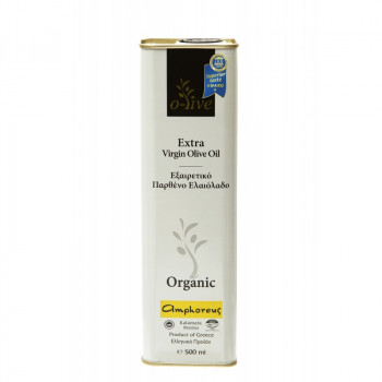 AMPHOREUS Premium Extra Virgin Olive Oil 500ml Tin Can