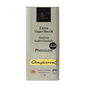 AMPHOREUS Premium Taste Extra Virgin Olive Oil 250ml Tin Can