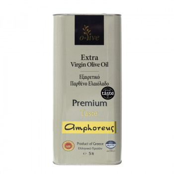 AMPHOREUS Premium Taste Extra Virgin Olive Oil 3L Tin Can